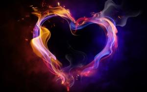 burning-cosmic-heart